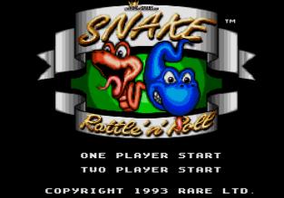 Snake Rattle N Roll Megadrive 01