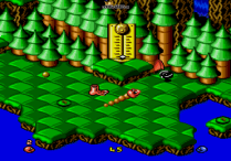 Snake Rattle N Roll Megadrive 03