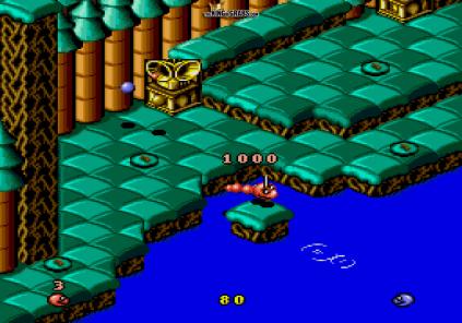 Snake Rattle N Roll Megadrive 09