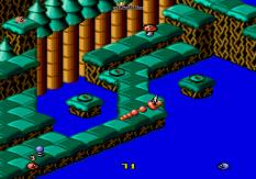 Snake Rattle N Roll Megadrive 10