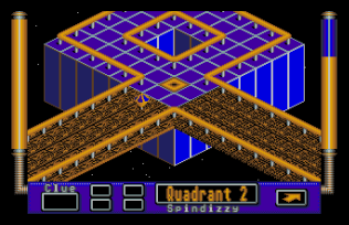 Spindizzy Worlds Atari ST 10