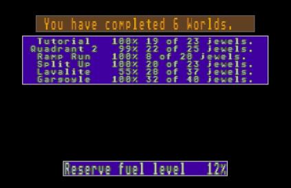 Spindizzy Worlds Atari ST 45