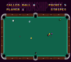 Championship Pool SNES 32