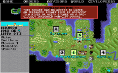 Civilization PC MS-DOS 80