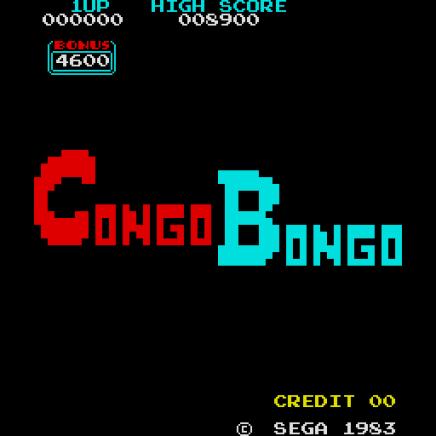 Congo Bongo Arcade 01