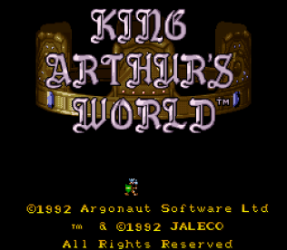 King Arthur's World SNES 01