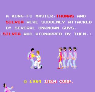 Kung-Fu Master (1984) Arcade 01