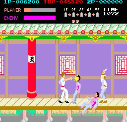 Kung-Fu Master (1984) Arcade 09