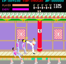 Kung-Fu Master (1984) Arcade 10