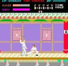 Kung-Fu Master (1984) Arcade 11