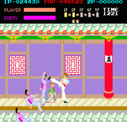 Kung-Fu Master (1984) Arcade 20