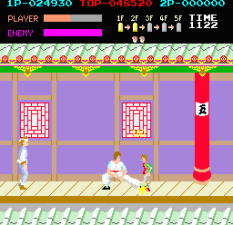 Kung-Fu Master (1984) Arcade 21