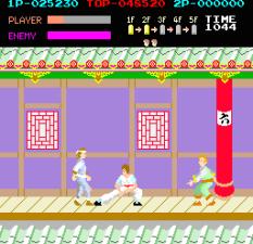 Kung-Fu Master (1984) Arcade 22