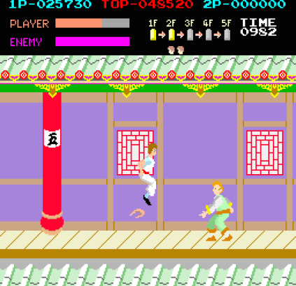 Kung-Fu Master (1984) Arcade 23