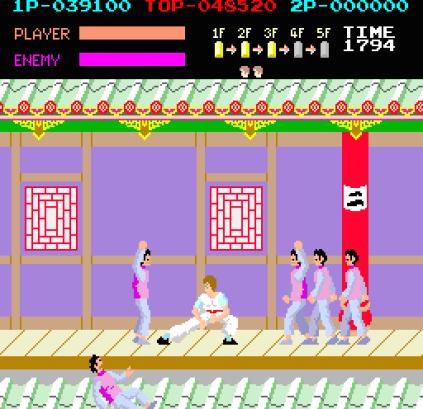 Kung-Fu Master (1984) Arcade 31
