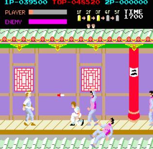 Kung-Fu Master (1984) Arcade 32
