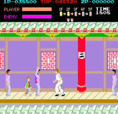 Kung-Fu Master (1984) Arcade 33