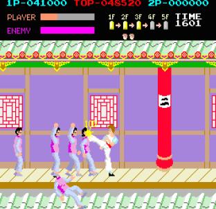 Kung-Fu Master (1984) Arcade 34