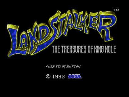 Landstalker Sega Megadrive 01