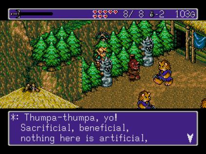 Landstalker Sega Megadrive 42