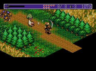 Landstalker Sega Megadrive 44