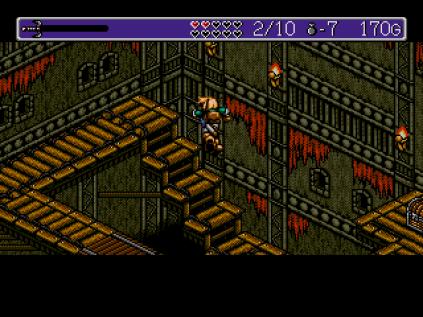 Landstalker Sega Megadrive 53
