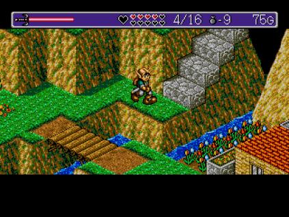 Landstalker Sega Megadrive 75