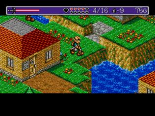 Landstalker Sega Megadrive 77