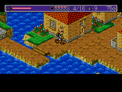 Landstalker Sega Megadrive 78