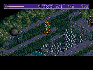 Landstalker Sega Megadrive 87