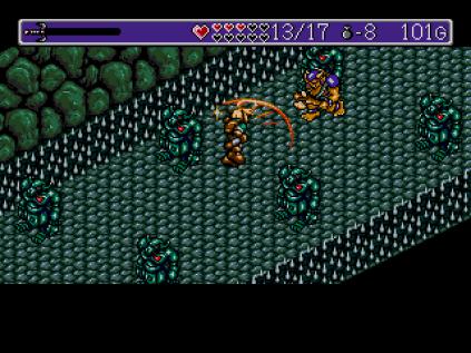Landstalker Sega Megadrive 89