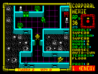 Laser Squad ZX Spectrum 12
