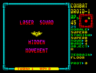 Laser Squad ZX Spectrum 45
