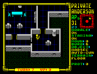 Laser Squad ZX Spectrum 56