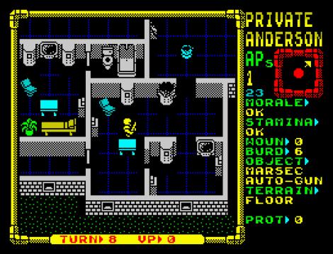 Laser Squad ZX Spectrum 59
