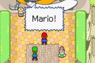 Mario & Luigi - Superstar Saga GBA 12