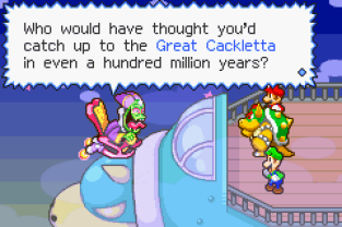Mario & Luigi - Superstar Saga GBA 31