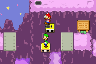 Mario & Luigi - Superstar Saga GBA 56