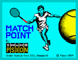 Match Point ZX Spectrum 01