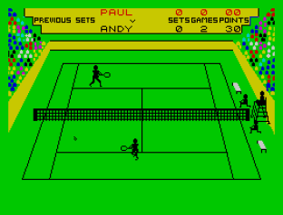 Match Point ZX Spectrum 09