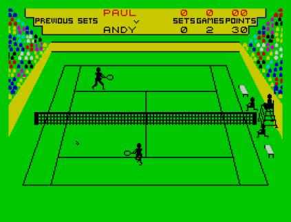 Match Point ZX Spectrum 09