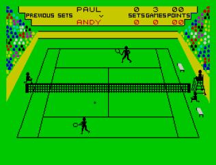 Match Point ZX Spectrum 10