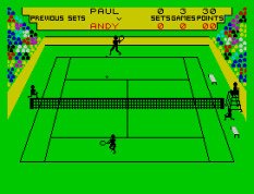 Match Point ZX Spectrum 11