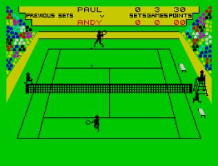 Match Point ZX Spectrum 11