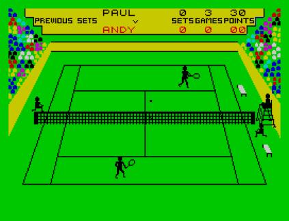 Match Point ZX Spectrum 12