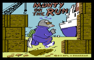 Monty On The Run C64 00