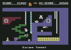 Monty On The Run C64 25
