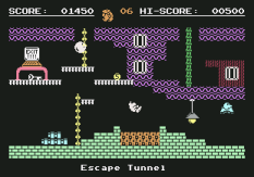 Monty On The Run C64 26
