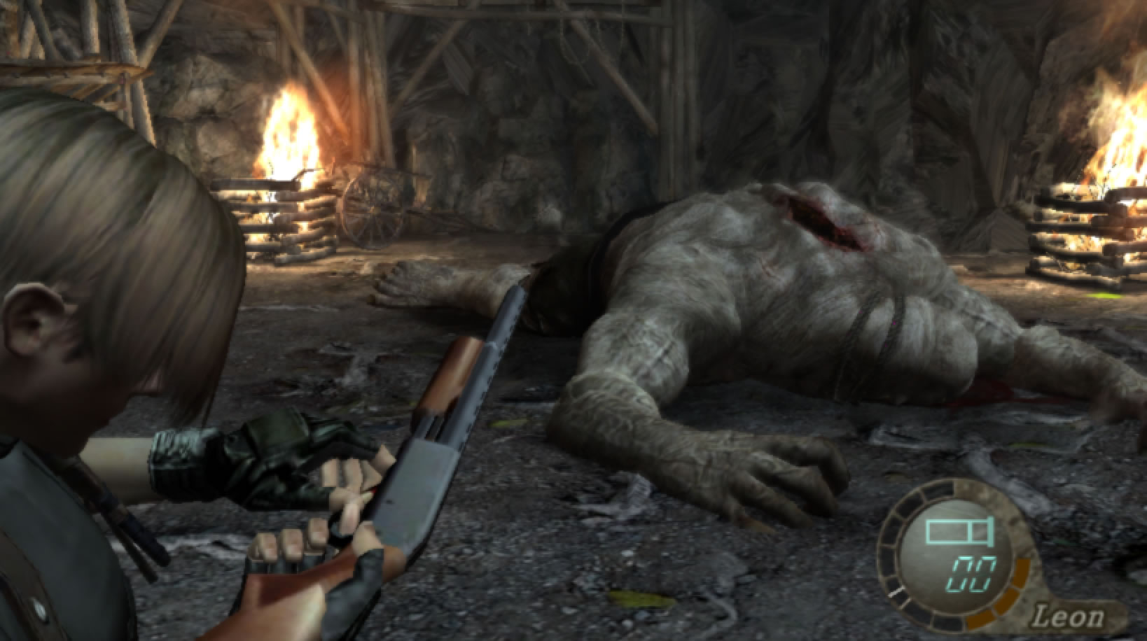 Resident Evil 4 Gamecube 097 The King Of Grabs