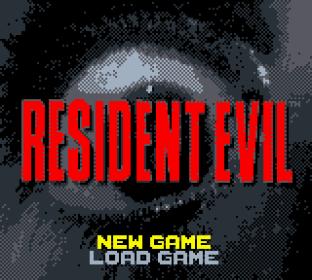 Resident Evil GBC Prototype 01